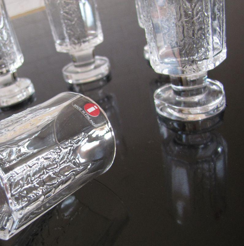 iittala kalinka shot glass timo sarpaneva. Black Bedroom Furniture Sets. Home Design Ideas