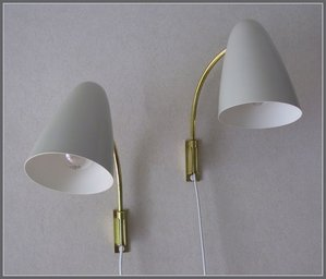 ORNO wall lamp from 1950`s, designed by Lisa Johansson-Pape\\n\\n4.7.2013 07.03