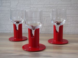 KAVERI 2001 glass with plastic foot, designed by Jorma Vennola for Iittala\\n\\n31.7.2013 08.05