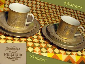 Rörstrand PRIMEUR coffee cup set, 3 pcs, Signe Persson-Melin\\n\\n11.7.2013 17.34