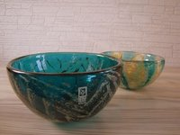 MDINA art glass bowl from Malta