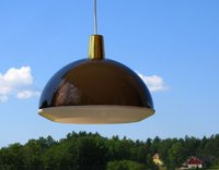 Vintage  Triennaali KUPLAT ceiling lamp, designed by Yki Nummi for Sanka