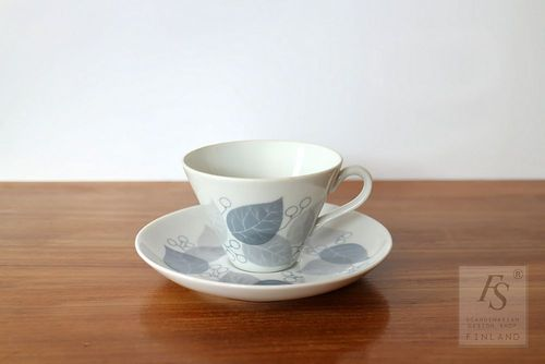 Arabia LEHMUS coffee cup and saucer