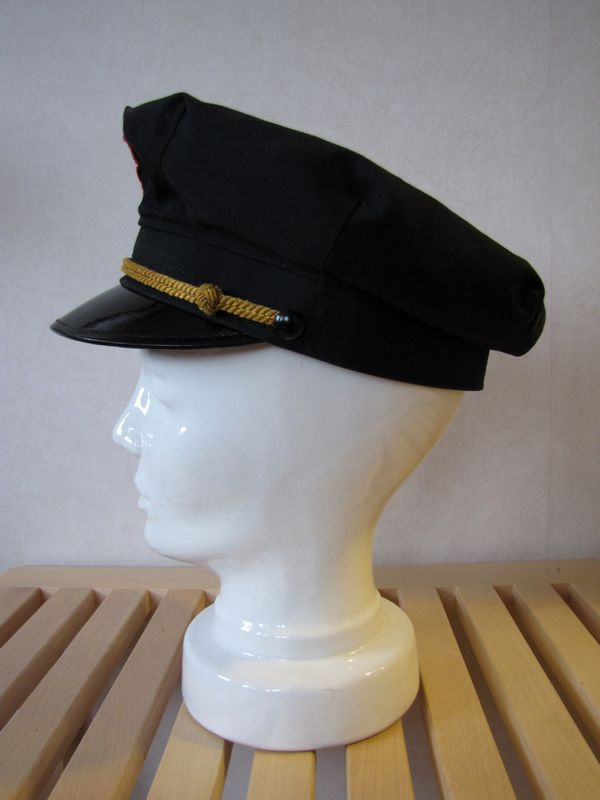 Vintage Shell Gas Station Attendant Hat 1950s