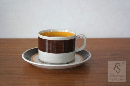 Gefle ALFA coffee cup and saucer