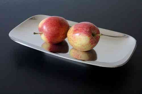 Modern stainless steel dish by Gustaf Janson