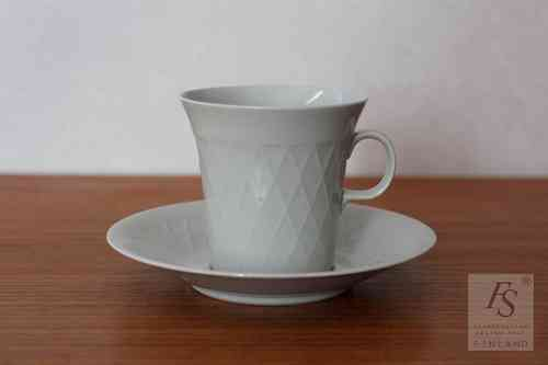 Arabia coffee cup and saucer, model LE