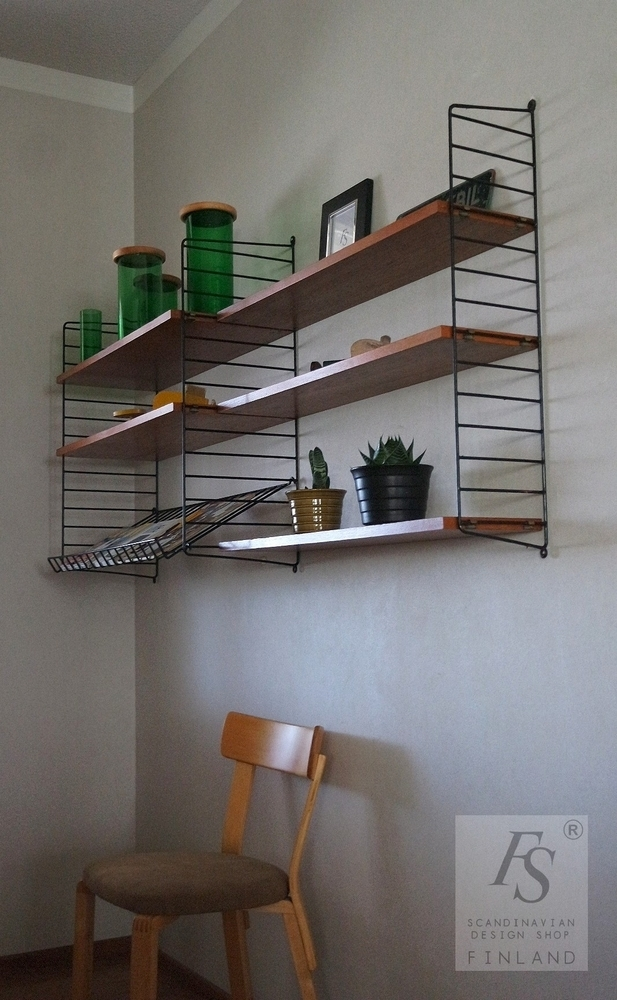 Original Vintage String Shelf 5 1 Shelves