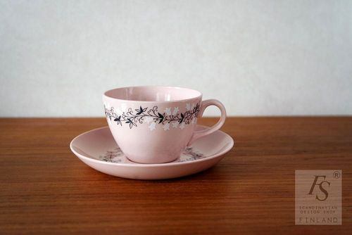 Arabia TIUKU coffee cup and saucer