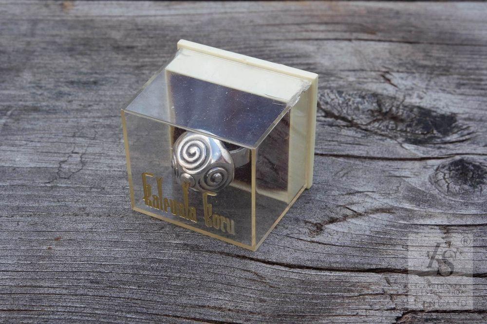Kalevala Jewelry, silver SPIRAL ring