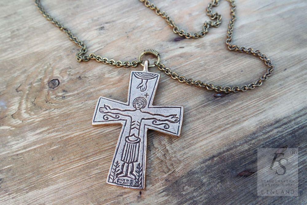 Kalevala Jewelry, bronze necklace