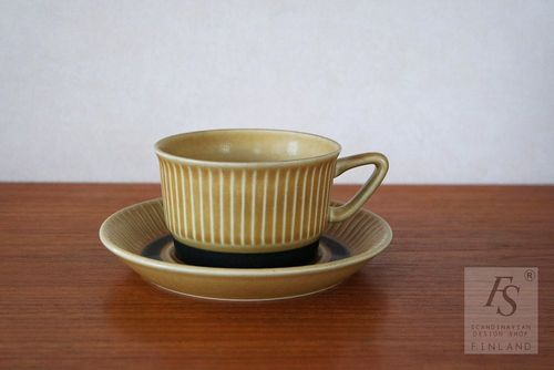 Stavangerflint Norrøna teacup and saucer