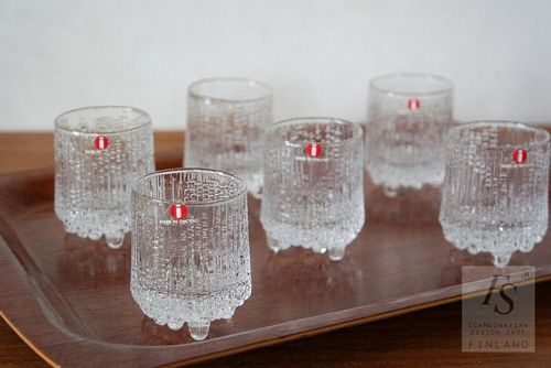 ULTIMA THULE shot glass 6 pcs, Tapio Wirkkala
