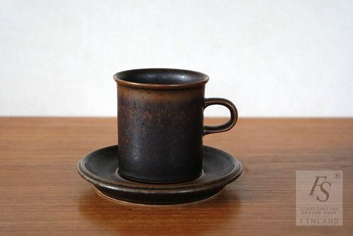 Arabia RUSKA coffee cup and saucer