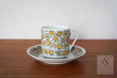 Arabia JUHLA demitasse cup and saucer