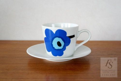 Marimekko UNIKKO coffee cup and saucer