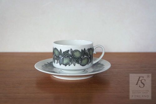 Arabia CITRUS coffee cup and saucer
