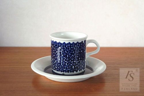 Arabia FAENZA demitasse cup and saucer