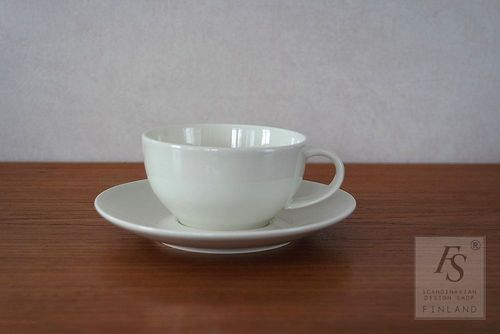 Arabia DOMINO coffee cup and saucer