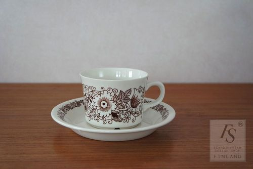 Arabia TUULA coffee cup and saucer