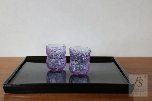 FAUNA shot glass, amethyst