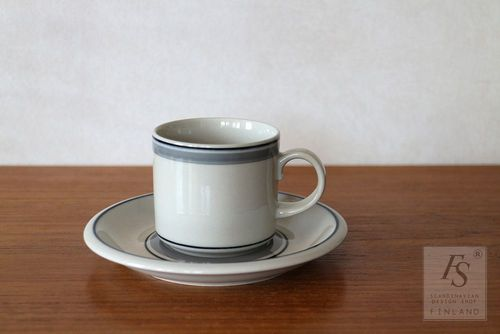 Arabia USVA coffee cup and saucer