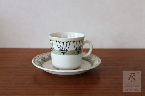 UE/Gefle DILL coffee cup and saucer