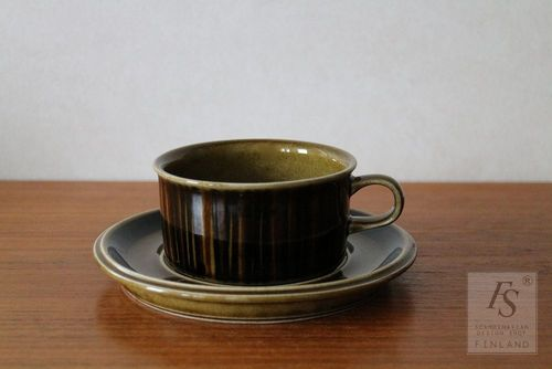 Arabia KOSMOS teacup and saucer