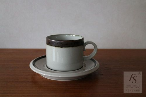 Arabia KARELIA teacup and saucer