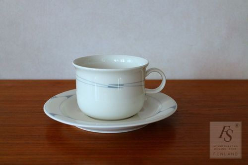 Arabia Arctica REGINA teacup and saucer