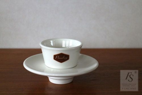 Arabia Paulig PREGO cup and saucer