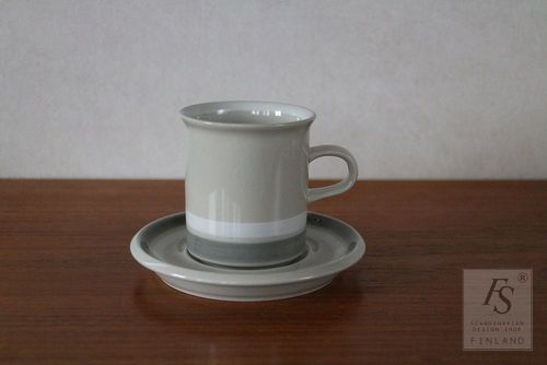 Arabia SALLA coffee cup and saucer