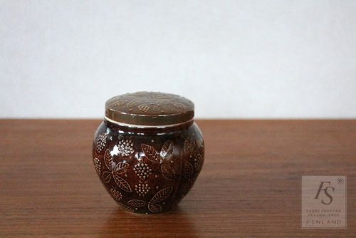 Arabia CHYMOS jar with lid