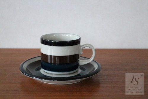 Arabia KAIRA coffee cup and saucer