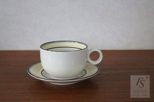 Arabia VERANDA coffee cup and saucer