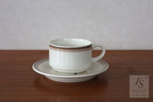 Arabia SAANA coffee cup and saucer