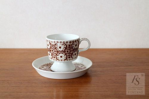 Arabia ALI coffee cup and saucer