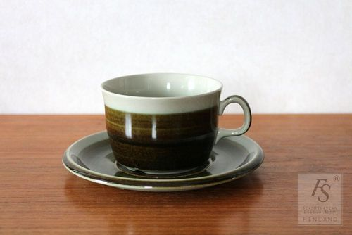 Rörstrand MAYA teacup and saucer