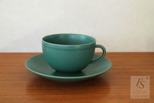 Arabia 24h breakfast cup and saucer 50cl