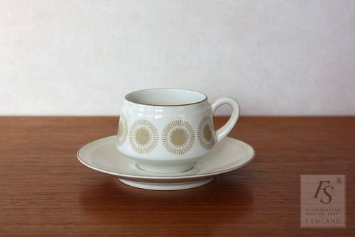 Arabia BELLIS coffee cup and saucer