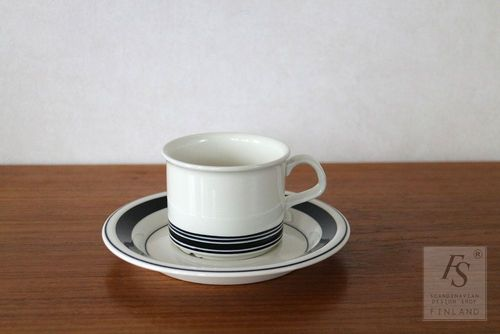 Arabia FAENZA coffee cup and saucer