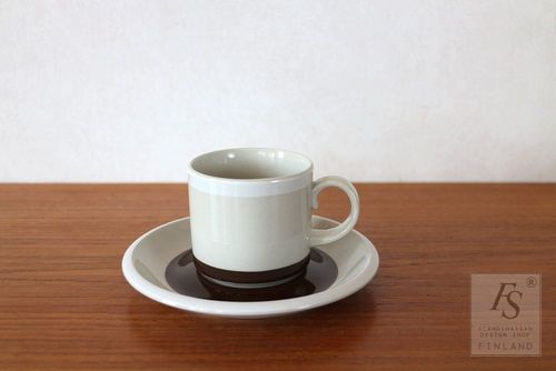 Arabia RAITO coffee cup and saucer