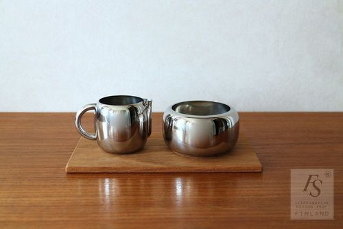 OPA sugar bowl and creamer, Timo Sarpaneva