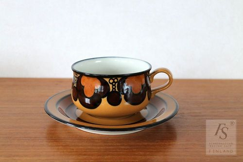 Arabia KALEVALA teacup and saucer