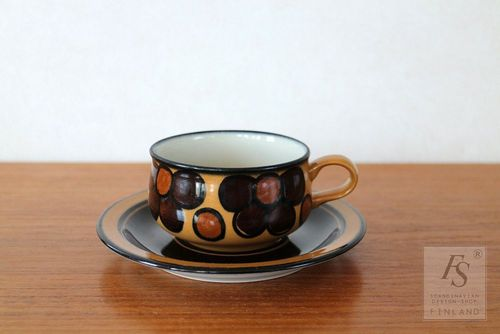 Arabia KALEVALA coffee cup and saucer