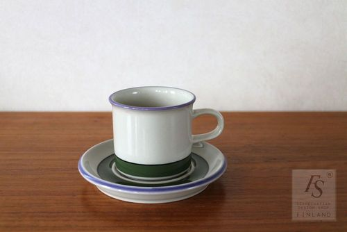 Arabia SELJA coffee cup and saucer