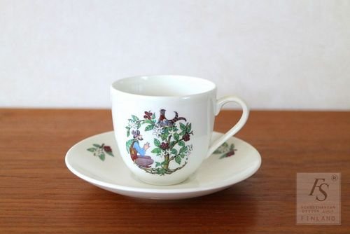 Gustavsberg COFFEA coffee cup and saucer