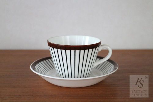 SPISA RIBB coffee cup and saucer