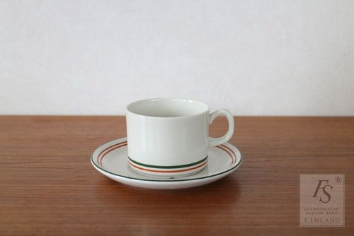 Gefle BAGATELLE coffee cup and saucer