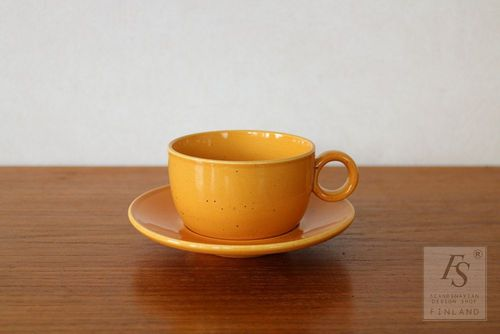 Gustavsberg PRIMULA coffee cup and saucer